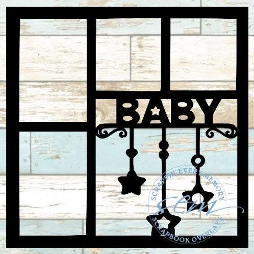 Baby Scrapbook Overlay