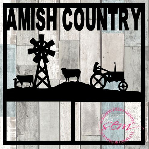 Amish Country Scrapbook Overlay