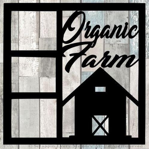 Organic Farm Scrapbook Overlay