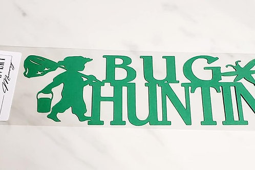 Bug Hunting Scrapbook Deluxe Die Cut