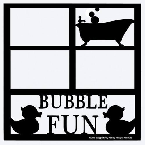 Bubble Fun Scrapbook Overlay