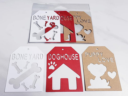 Dog Deluxe Word Tags