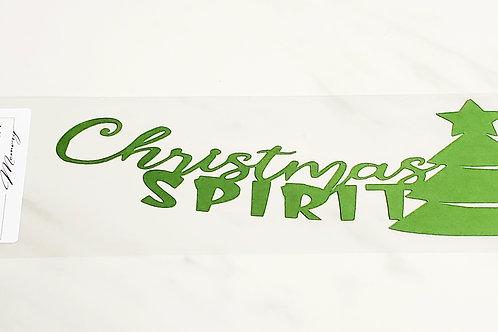Christmas Spirit Scrapbook Deluxe Die Cut