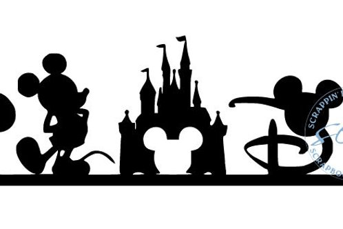 Disney Scrapbook Border