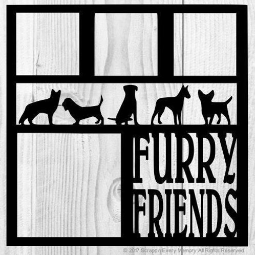 Furry Friends Scrapbook Overlay