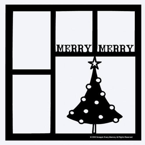 Merry Merry Scrapbook Overlay