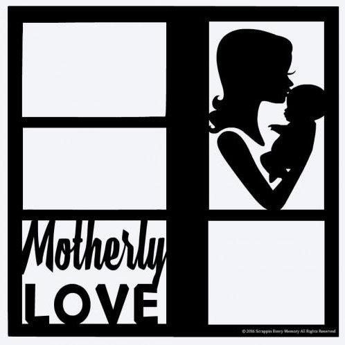 Motherly Love Scrapbook Overlay