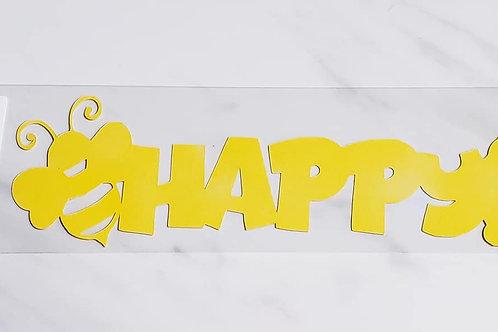 Happy Scrapbook Deluxe Die Cut