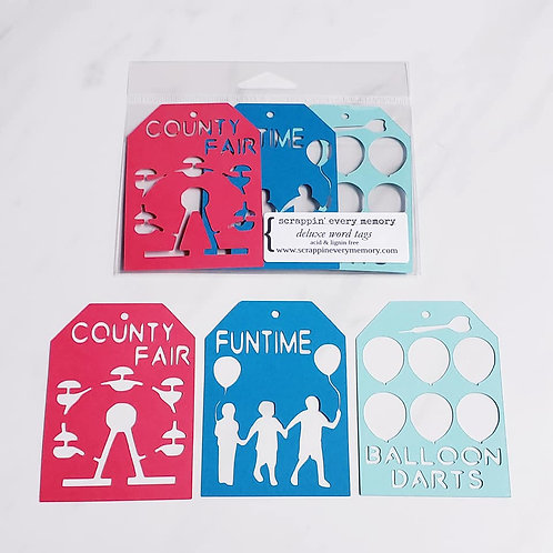 County Fair Deluxe Word Tags