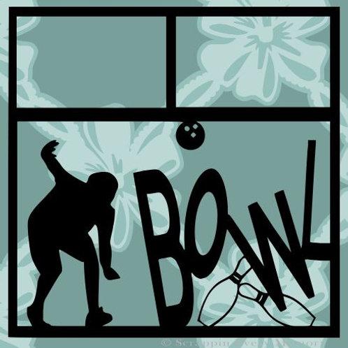 Bowl Scrapbook Overlay