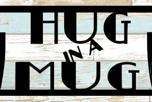 Hug In A Mug Scrapbook Title
