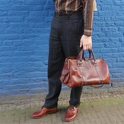 Dries van Noten pantalon wol/katoen 50