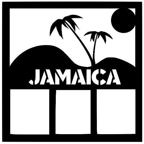 Jamaica Scrapbook Overlay