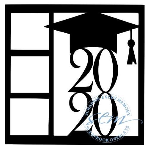 Graduation 2020 Scrapbook Overlay