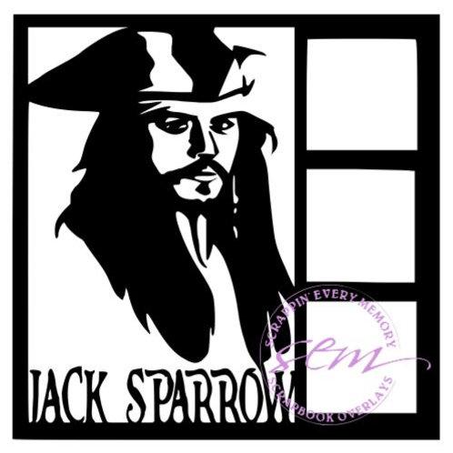 Jack Sparrow Scrapbook Overlay