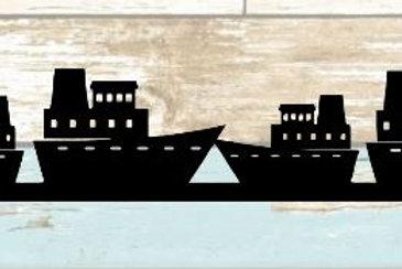 Cruise Ships Scrapbook Border
