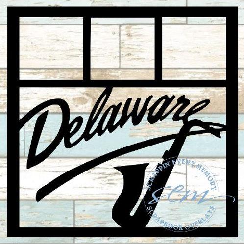 Delaware Scrapbook Overlay
