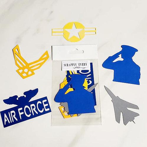 Air Force Die Cut Silhouette Mini Set