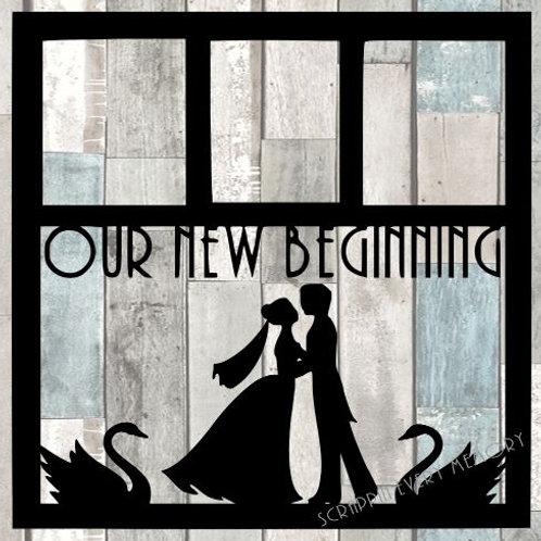 Our New Beginning Scrapbook Overlay
