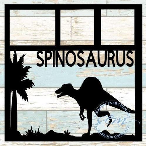 Spinosaurus Scrapbook Overlay