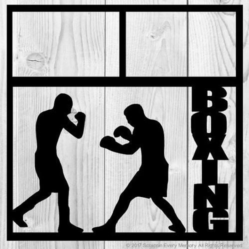 Boxing Scrapbook Overlay