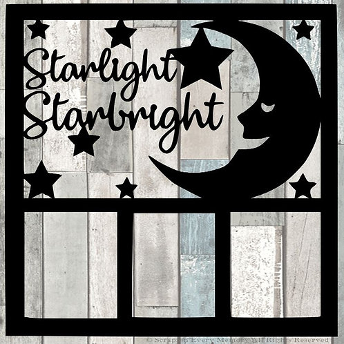 Starlight Starbright Scrapbook Overlay