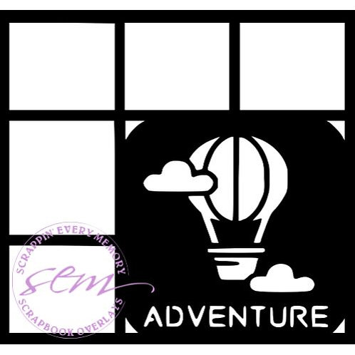 Adventure Scrapbook Overlay