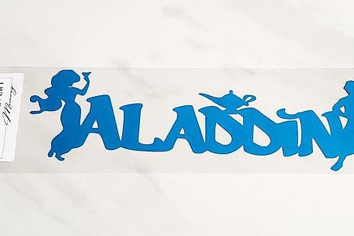 Aladdin Scrapbook Deluxe Die Cut