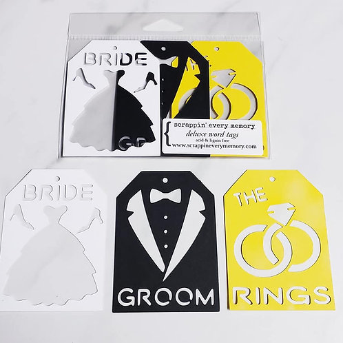Marriage Deluxe Word Tags