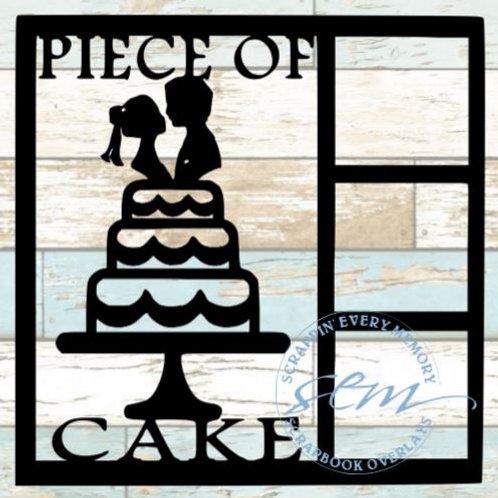 Piece Of Cake Scrapbook Overlay