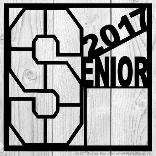 2017 Senior Scrapbook Overlay