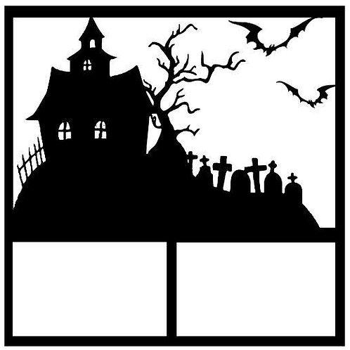 Halloween Scrapbook Overlay