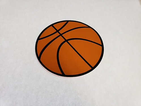 Basketball Paper Piecing Die Cut