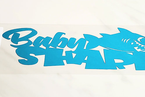 Baby Shark Scrapbook Deluxe Die Cut