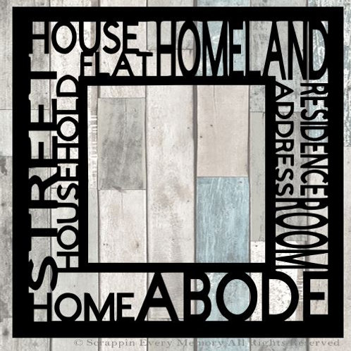 Home Tag Text Scrapbook Overlay