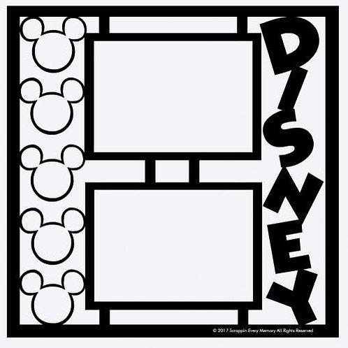 Disney Scrapbook Overlay