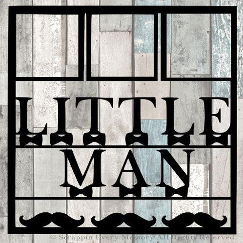 Little Man Scrapbook Overlay