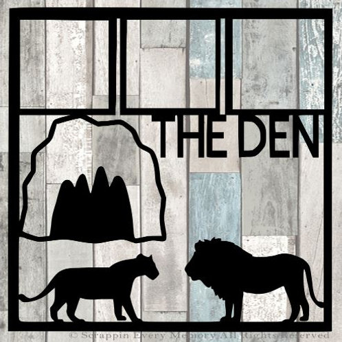The Den Scrapbook Overlay