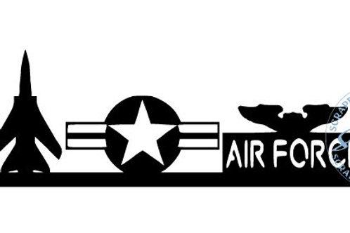 Air Force Scrapbook Border