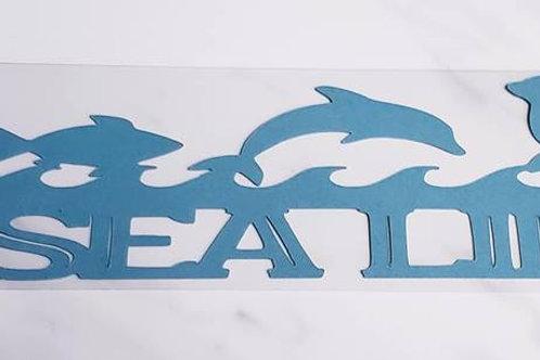 Sea Life Scrapbook Deluxe Die Cut