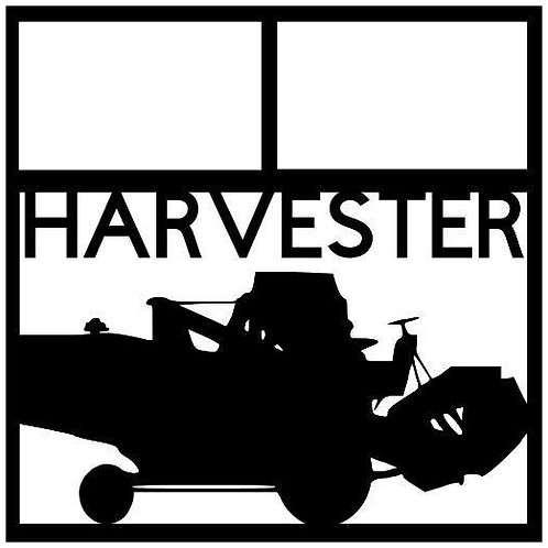 Harvester Scrapbook Overlay