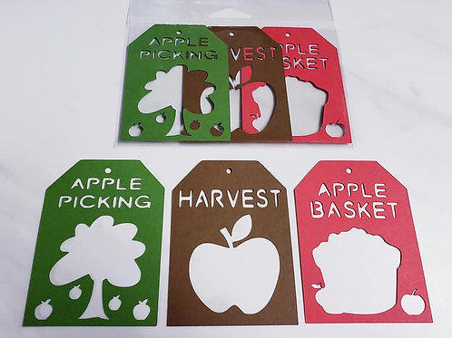 Apple Picking Deluxe Word Tags