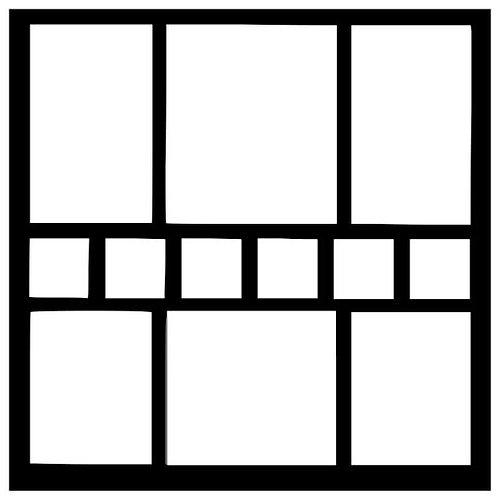 Frame 024 Scrapbook Overlay