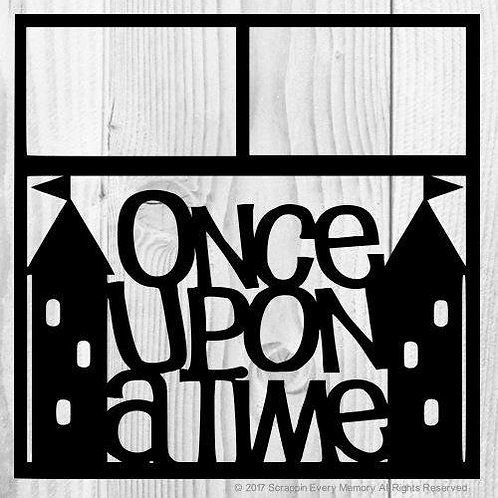 Once Upon A Time Scrapbook Overlay