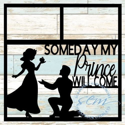 Someday My Prince Will Come Scrapbook Overlay