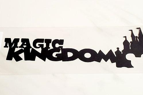 Magic Kingdom Scrapbook Deluxe Die Cut