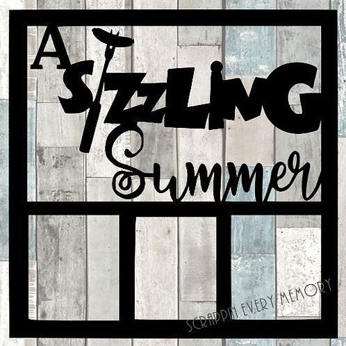 A Sizzling Summer Scrapbook Overlay