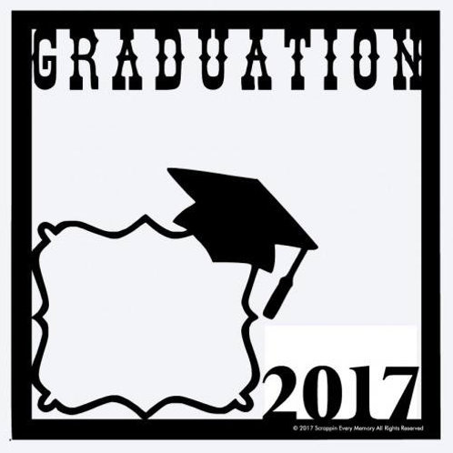 Graduation 2017 Scrapbook Overlay