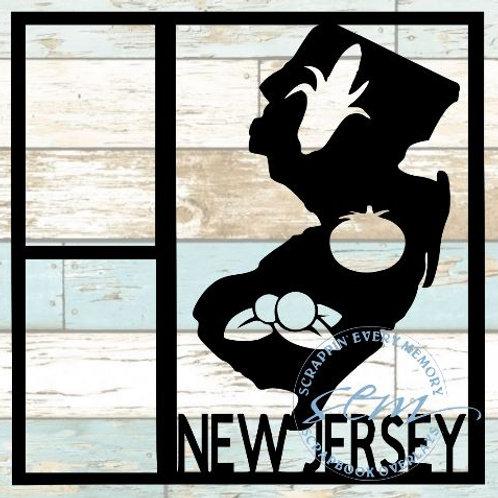 New Jersey Scrapbook Overlay