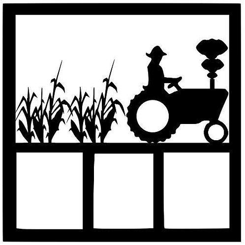 Farmer Scrapbook Overlay